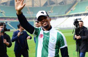 Eto'o signs for Konyaspor from Antalyaspor
