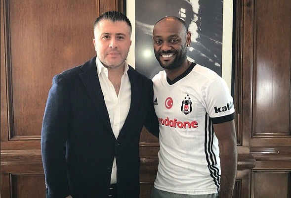Brazilian striker Vagner Love moves to Besiktas