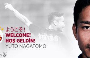 Yuto Nagatomo signs on loan for Galatasaray