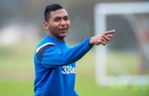 Fener after Rangers forward
