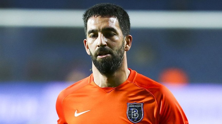 Arda Turan playing for Basaksehir
