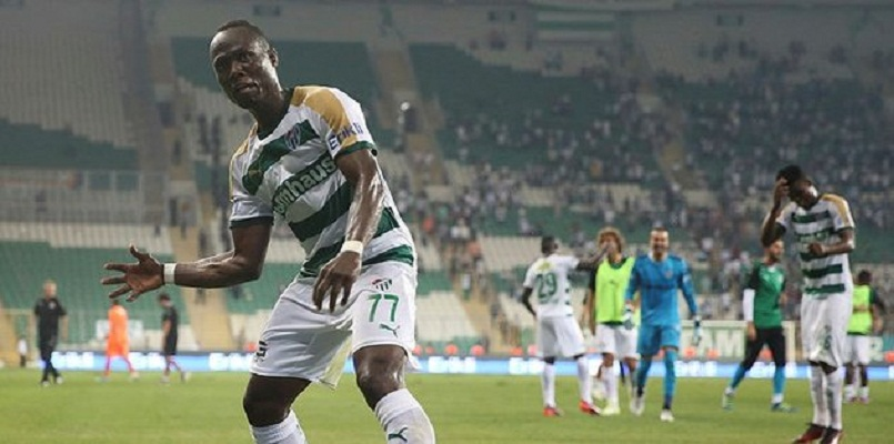 Badu of bursaspor injured for long time