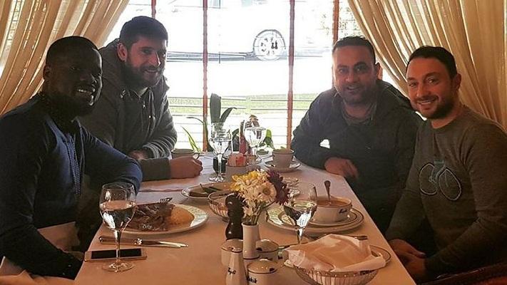 Eboue is back in Istanbul.