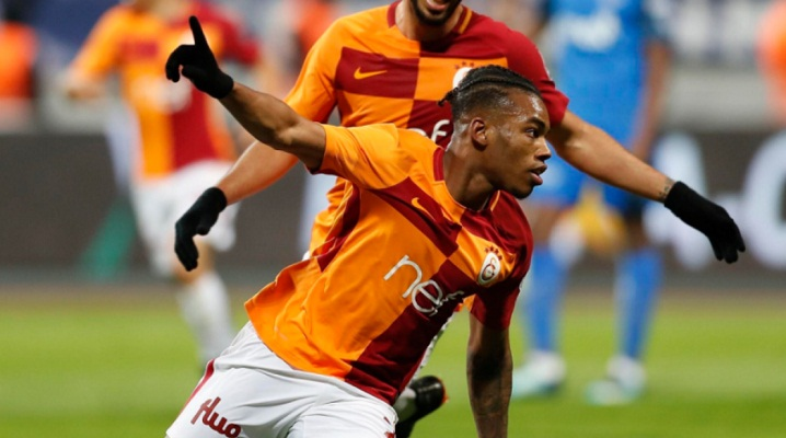 Garry Rodrigues playing well for Galatasaray this season.