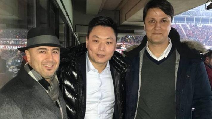 Milan CEO David Han Li spotted in Istanbul