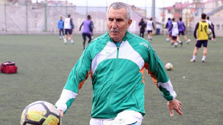 Serif Kunt 69-year-old football player