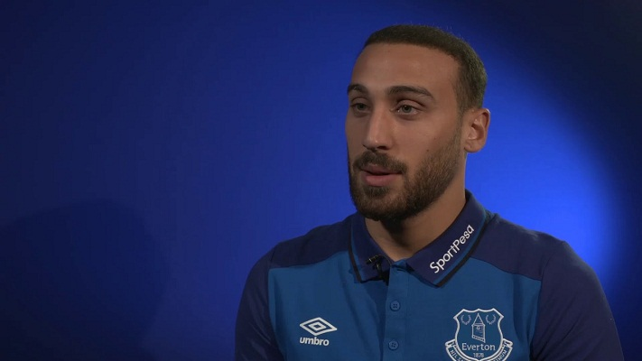 Cenk Tosun speaks of his wishes for Everton