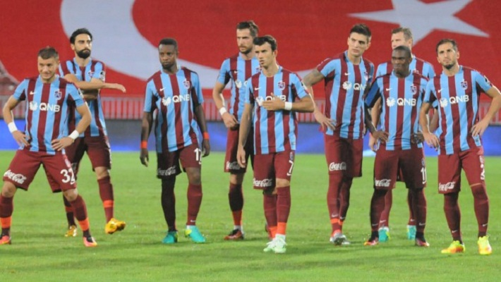 Trabzonspor Riza Calimbay can't win