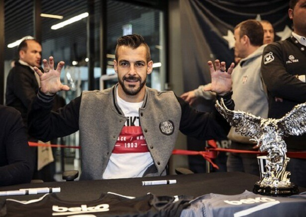 Alvaro Negredo reveals he has never played in front of fans like Besiktas fans before