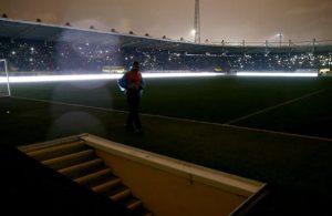 1.Lig match between Ankaragucu and Adanaspor abandoned due to power failure