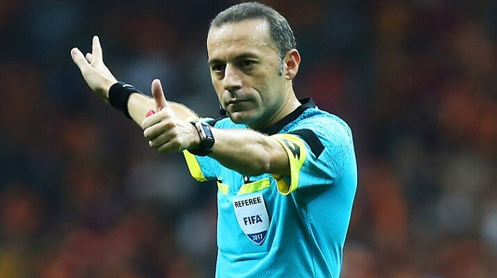Cuneyt Cakir called up for World Cup duty