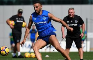 Cenk Tosun beneftting from extra training