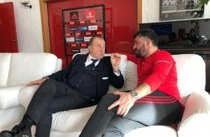 Fatih Terim visits Italy and Gattuso