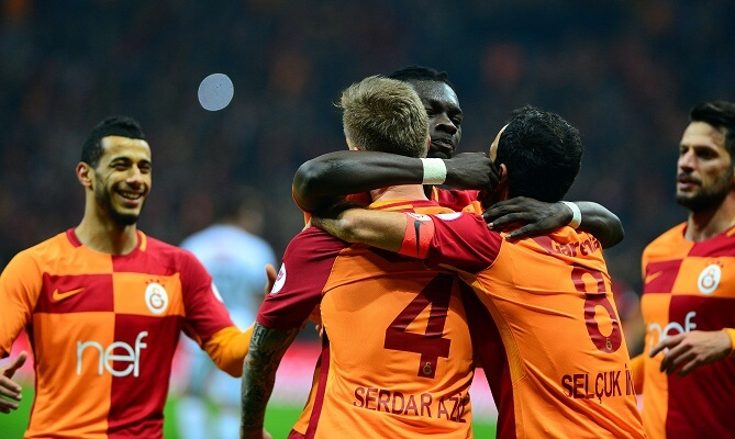 Galatasaray remain undefeated at home