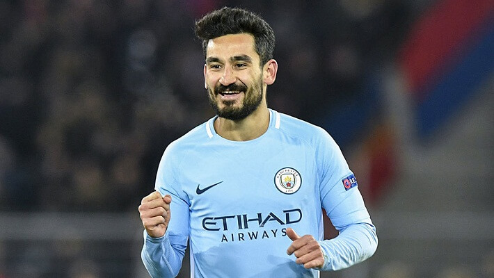 Ilkay Gundogan happy with Man City form after injury
