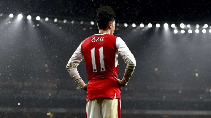 Arsenal playmaker Mesut Ozil breaks assists record with 50 assists
