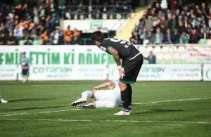 Adana Demirspor defender Sezer Ozmen broke his foot