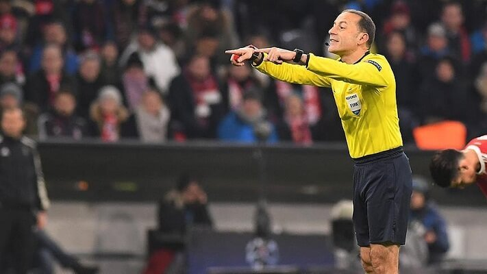 Cuneyt Cakir to take charge of Madrid-Bayern clash