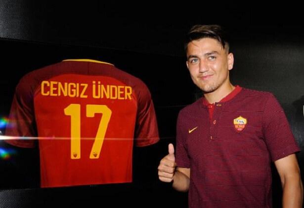 Cengiz Under continues to shine at Roma