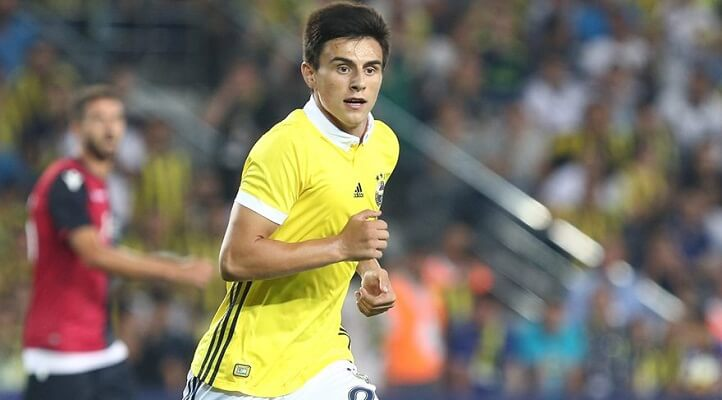 Man City and Dortmund to battle for Fenerbahce's Eljif Elmas