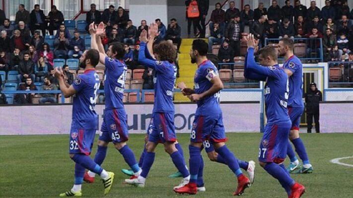 Karabukspor relegated from the Turkish Super Lig