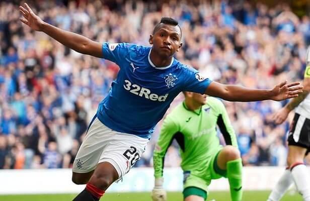 Rangers striker Morelos drops Besiktas hint
