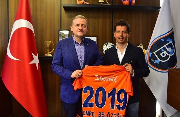 Emre Belozoglu signs contract extension with Basaksehir