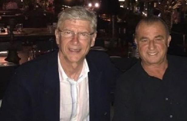 Fatih Terim meets with Arsene Wenger