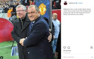 Fatih Terim's get well message to Sir Alex Ferguson