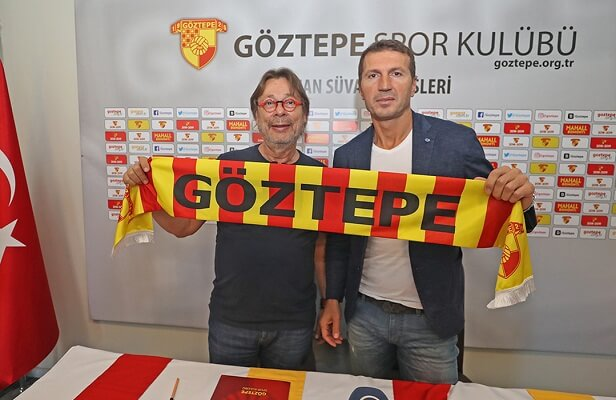 Goztepe hire Bayram Bektas to replace Tuna