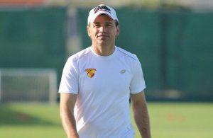 Goztepe sack manager Tamer Tuna