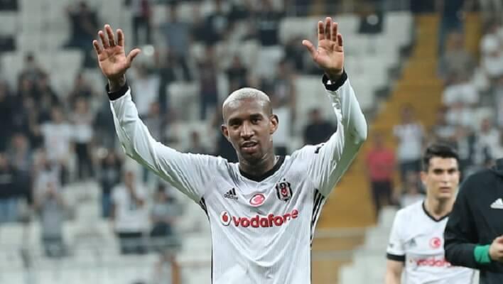 Anderson Talisca bids farewell to Besiktas