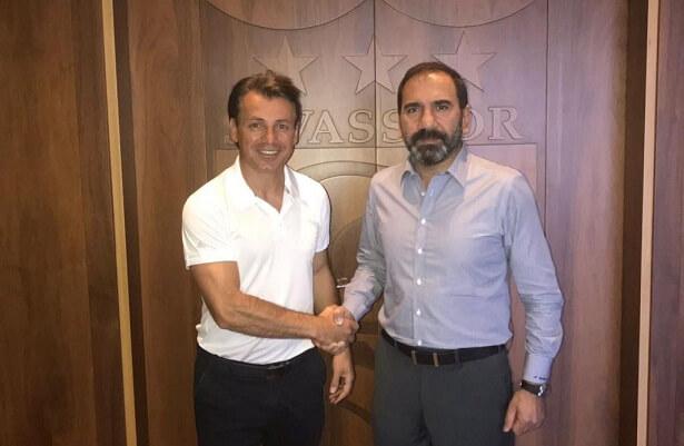 Tamer Tuna takes charge at Sivasspor