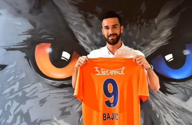 Basaksehir extend Riad Bajic's loan for 1 year