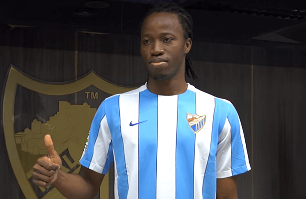 Trabzonspor after Malaga defender Bakary Kone