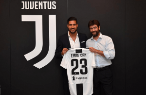 Juventus complete signing of Emre Can