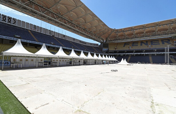 Fener's stadium prepped for elections