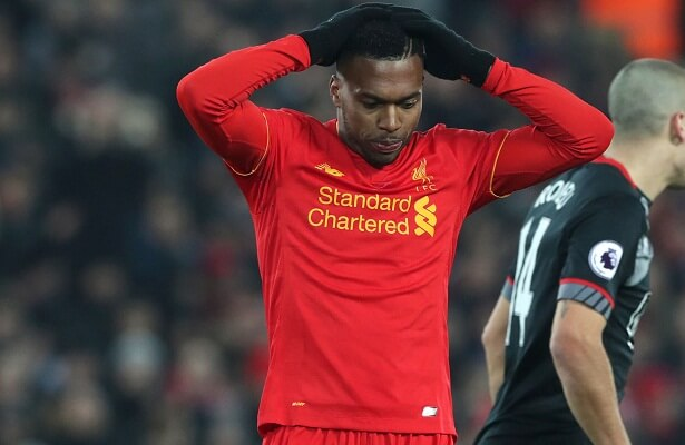Besiktas negotiating transfer fee for Liverpool's Daniel Sturridge