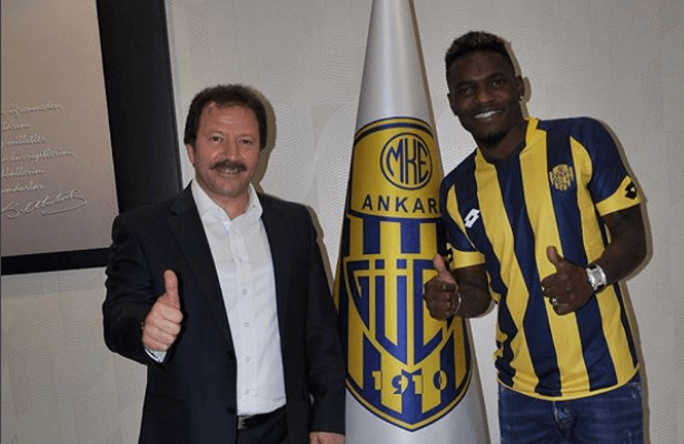 Thievy Bifouma signs for Ankaragucu