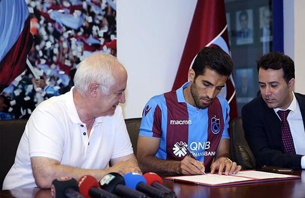 Trabzonspor sign Vahid Amiri from Persepolis