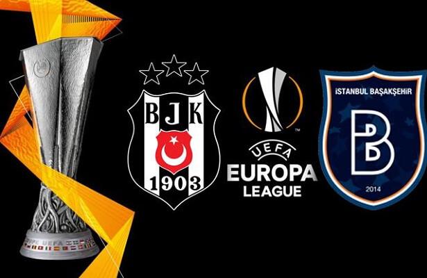 Besiktas win, Basaksehir draw in Europa League