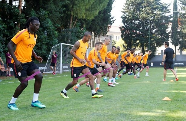 Galatasaray's friendly schedule announced