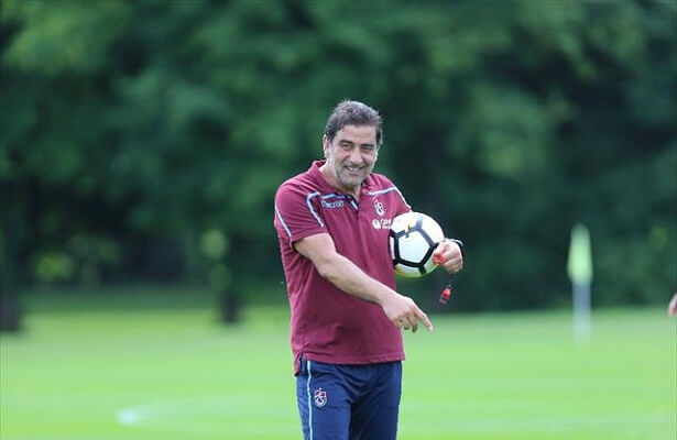 Trabzonspor boss uses drone to track players