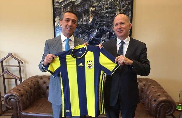 UK Ambassador to Turkey is a Fenerbahce fan