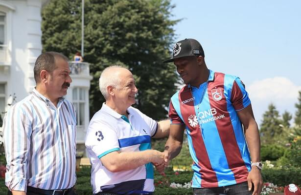 Trabzonspor sign Nwakaeme from Hapoel Beer Sheva
