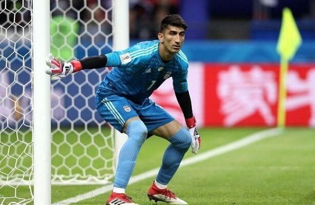 Iranian goalkeeper Alireza Beiranvand linked with Besiktas