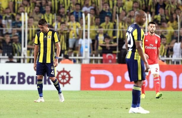 Fenerbahce unable to get by Benfica, move to Europa League
