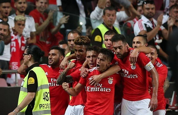 Benfica edges past Fenerbahce, closer to group stages