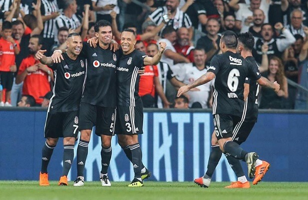 Besiktas defeat FK Partizan to qualify for group stages