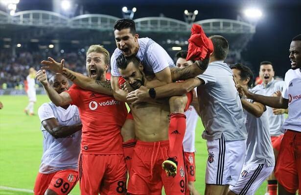 Besiktas advance to Europa League playoffs